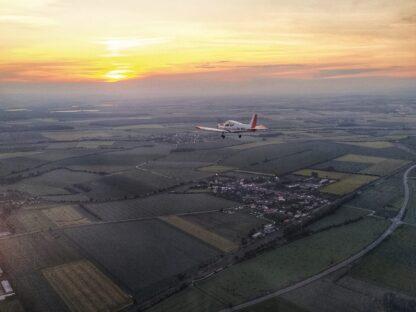Vyhlídkový let - Střední Morava